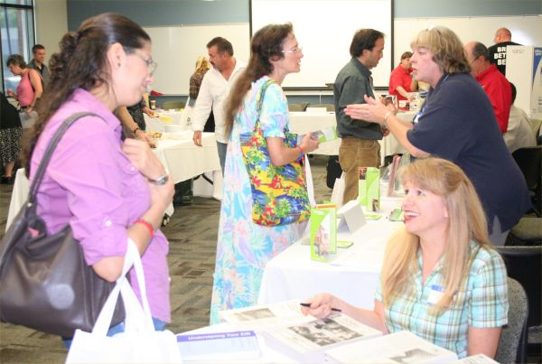 View of recent year's Business Resource Fair